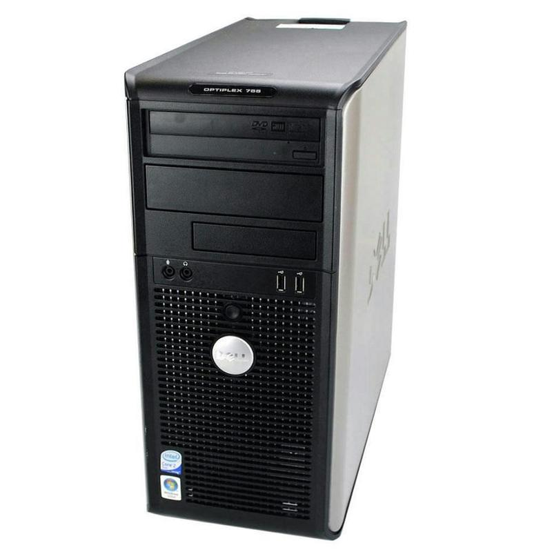 Dell OptiPlex 745 C2D 2 4GHz 4GB 160GB DVDCDRW Tower Windows 10